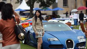 Feria de autos de lujo en Inglaterra