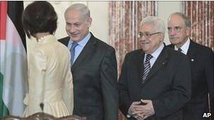 Abbas e Netanyahu, em foto de arquivo