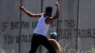 رماة الحجارة الفلسطينيون