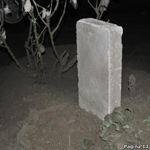 Tijolo feito com cinzas do vulcão Puyehue (Foto: Página/12)
