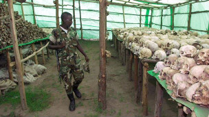 Mabakai ya watu waliouawa nchini Rwanda