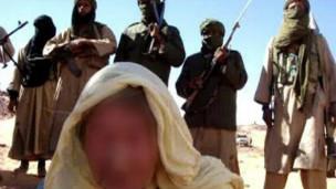 رهينة عند تنظيم القاعدة في مالي (أرشيف)