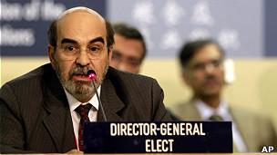O ex-ministro José Graziano na FAO (Foto: AP)