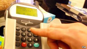 قارئة بطاقات الائتمان