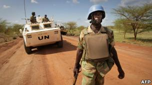 قوات اممية في السودان