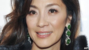 被缅甸政府列入黑名单的著名女演员杨紫琼