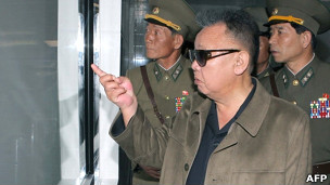 Lãnh tụ Kim Jong Il thăm một cơ sở quân sự Bắc Hàn
