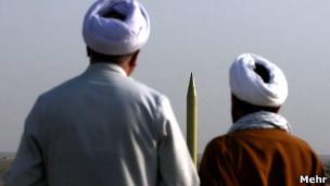 رزمایش موشکی ایران