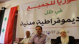مؤتمر للمعارضة السورية في دمشق