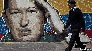 Chávez domina a política venezuelana há anos