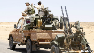 قوات المعارضة الليبية في زنتان