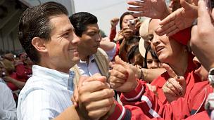 Enrique Peña Nieto, gobernador del Estado de México. Foto tomada de su sitio en Facebook