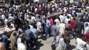 مظاهرات في حمص