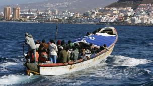 قاچاق مهاجران به اسپانیا