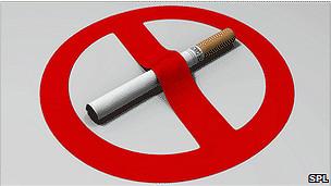 Aviso para dejar de fumar