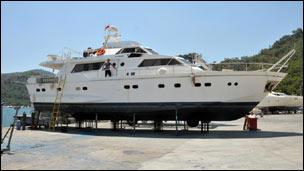 سفينة ايرلندية ضمن أسطول المساعدات الانسانية