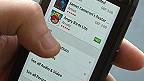 Apps en un teléfono inteligente
