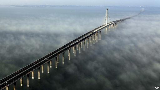 El puente marino más largo del mundo