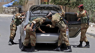جنود يمنيون في محافظة ابيان