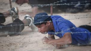 معسكر لتدريب المعارضة الليبية