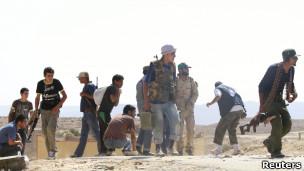 قوات المعارضة الليبية