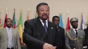 O chefe da comissão africana, Jean Ping.