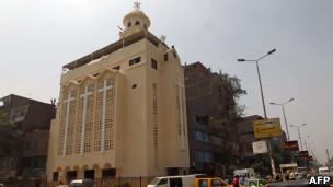 كنيسة العذراء مريم في إمبابة بعد ترميمها