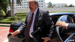 وزير المالية المصري سمير رضوان