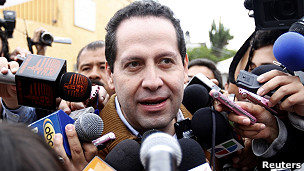 Eruviel Avila, candidato PRI a la gobernación de México