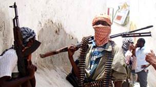 Miembros de al-Shabab