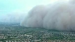 Tempestade de areia no Arizona