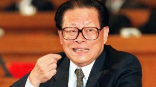 当前中共老人干政的代表江泽民