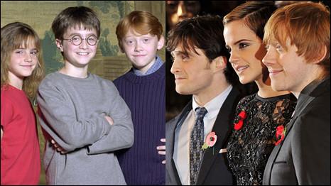 Các thành viên Harry Potters chia tay