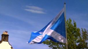 苏格兰国旗