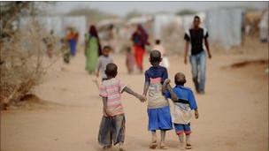 المجاعة في شرق أفريقيا