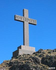 PowerPoint, crucificado
