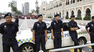پلیس مالزی
