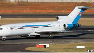 بوينغ 727 الكونغو