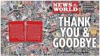 Edisi terakhir tabloid News of the World
