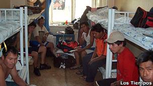 Bolivianos víctima de trata.