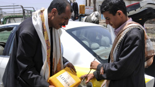 Kekurangan bahan bakar di Yaman