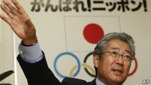 سونيكازو تاكيدا رئيس اللجنة الاولمبية اليابانية