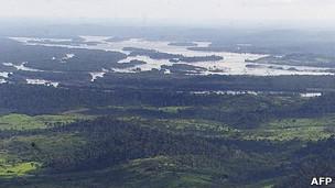 Reigão do Xingu, no Pará, em foto de arquivo