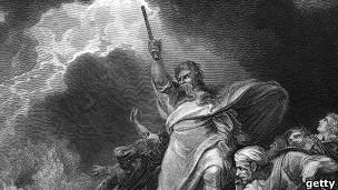 Dibujo de Moisés.