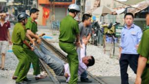 Nguyễn Chí Đức trong vụ biểu tình
