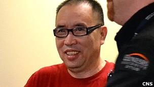 赖昌星被押往温哥华法庭出席羁押聆讯(中新社图片20/7/2011)