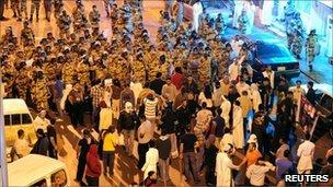 احتجاجات في السعودية في مارس /اذار الماضي