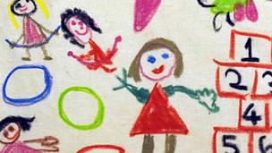 Dibujos genéricos de niños