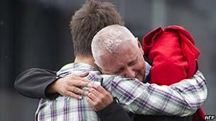 Vítima do ataque na ilha/AFP