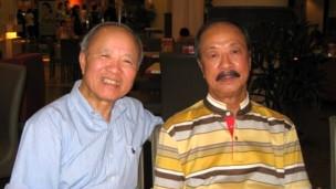 Tướng Nguyễn Cao Kỳ và ông Đỗ Văn, 3/2010